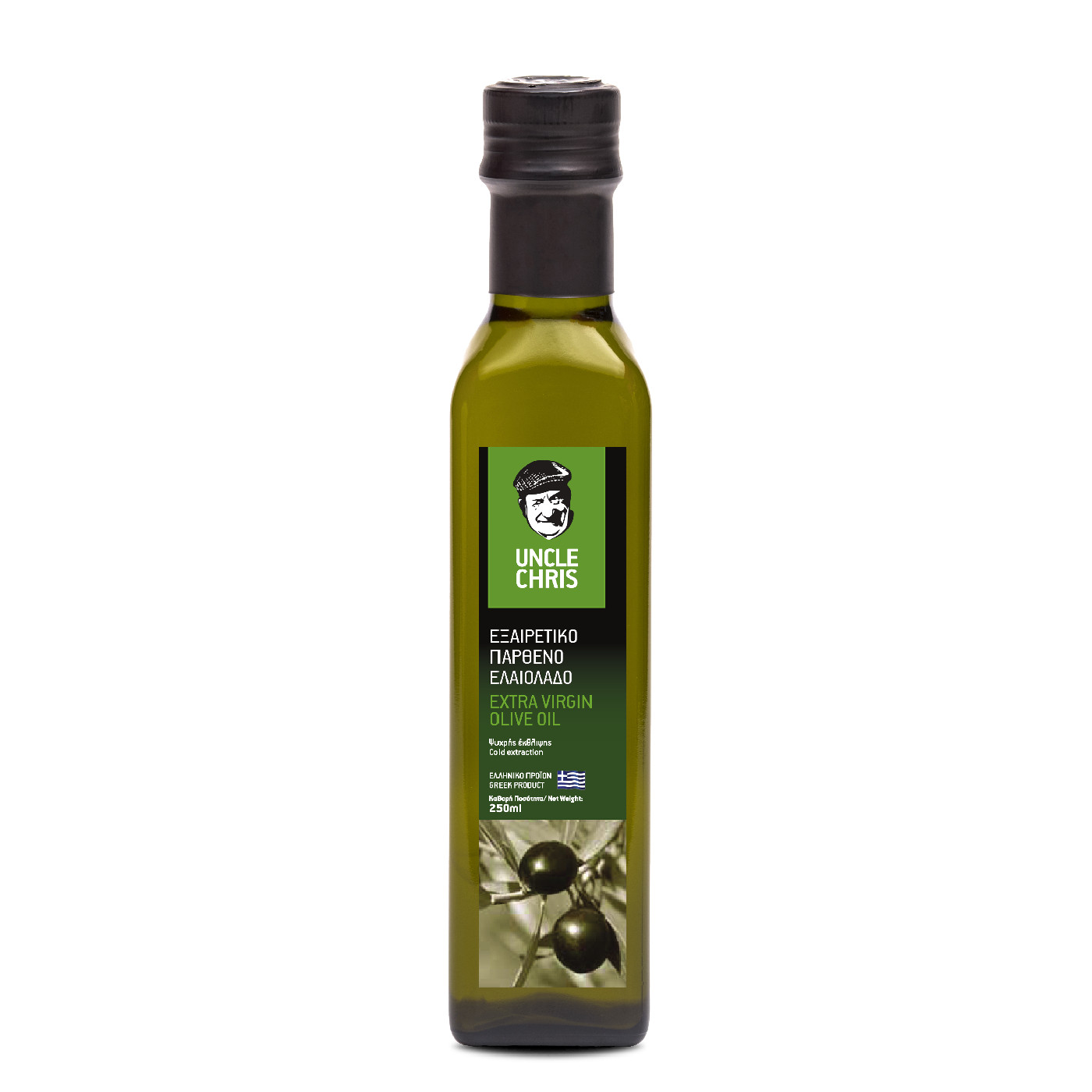 Uncle Chris Extra virgin olive oil marasca 250ml
