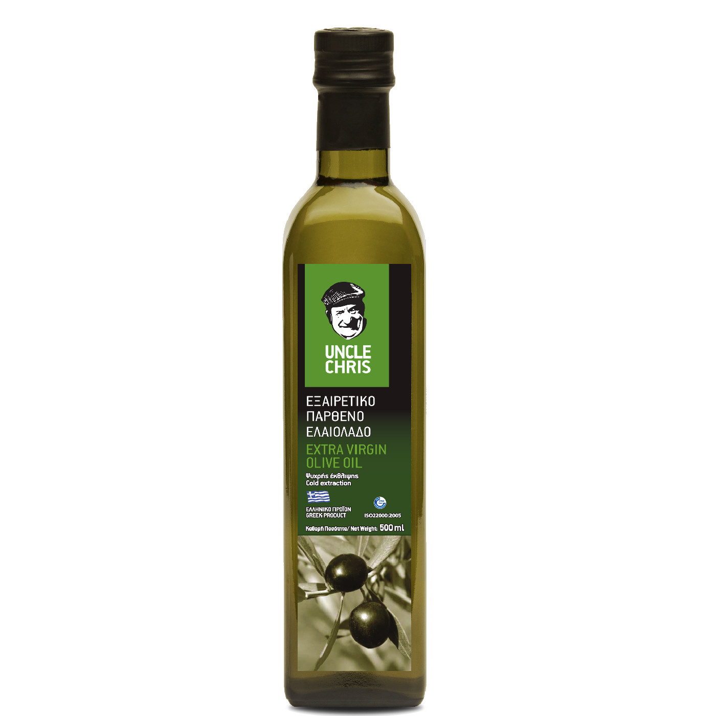 Uncle Chris Extra virgin olive oil marasca 500ml
