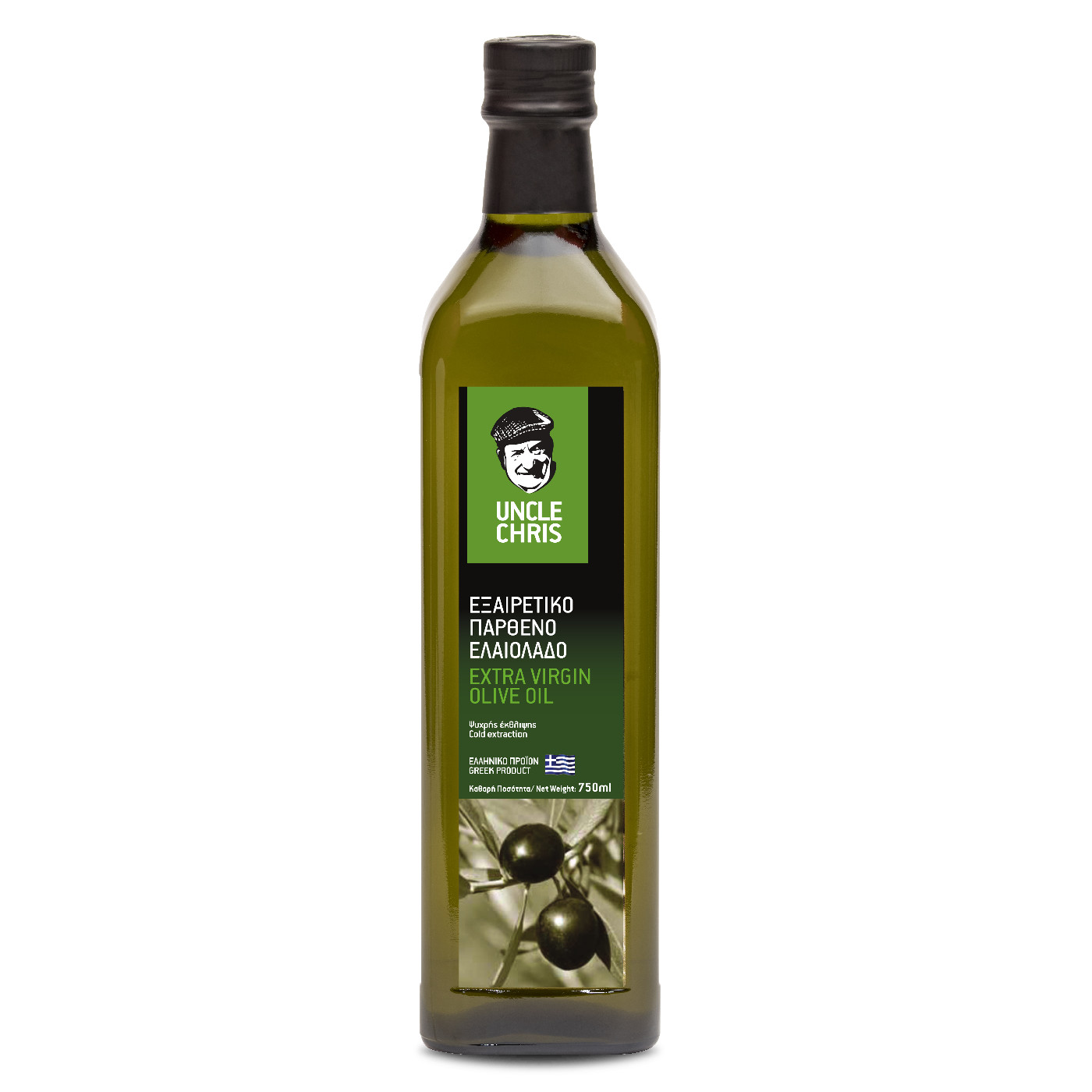 Uncle Chris Extra virgin olive oil marasca 750ml