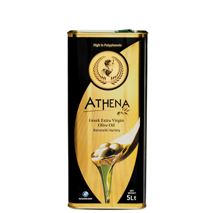Athena Extra virgin olive oil  tin can 5L
