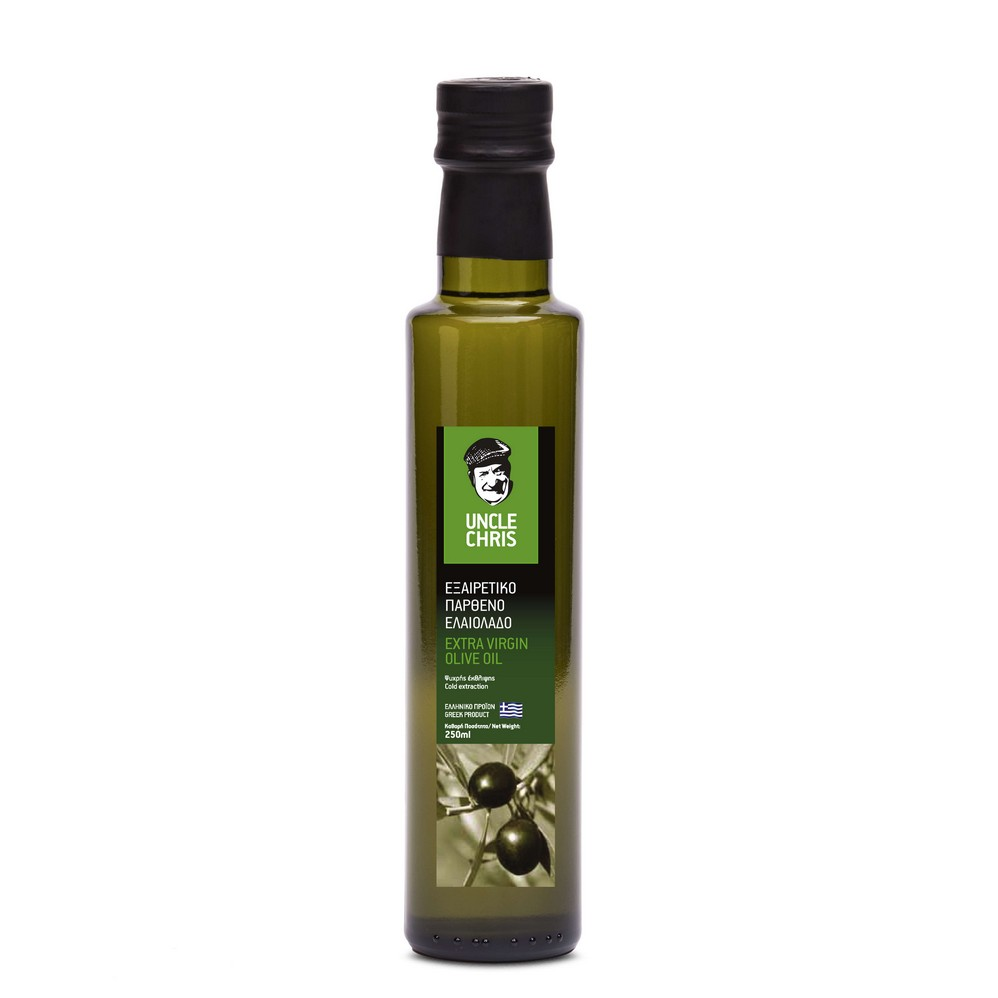 Uncle Chris Extra virgin olive oil dorica 250ml